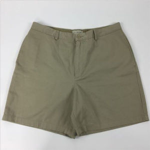 J.Crew Shorts Size 38 Beige Flat Front Chino